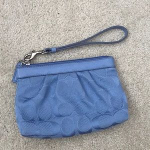 NEW without tags Coach Wristlet